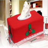Tissue Box Napkin Case Cover | Christmas Decor | All For Xmas