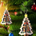 Christmas Tree 3D Hanging Pendants | Tree Decor | All For Xmas