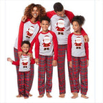 Christmas Family Matching Pajamas - Santa Plaid | Christmas Apparel | All For Xmas - All For Xmas