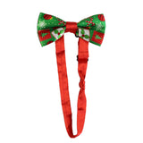 Tree Ornaments Adjustable Clip On Christmas Suspenders with Bowtie | Christmas Apparel | All For Xmas
