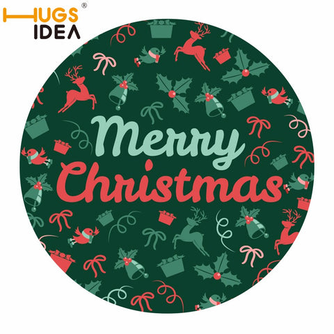 Christmas Felt Decorative carpet Rug - Different Designs | Home Decor | All For Xmas