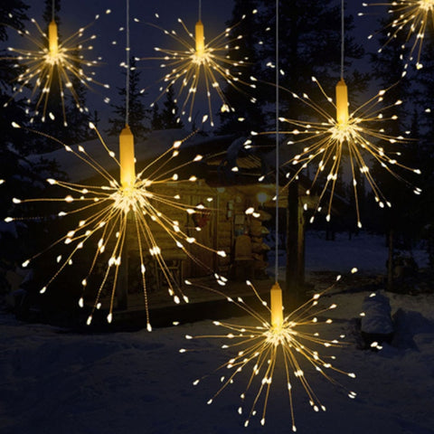 Hanging Fireworks LED String Lights | Christmas Lighting | All For Xmas