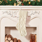 Knitted Christmas Traditional Stocking | Home Decor | All For Xmas