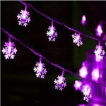 LED Snowflake String Lights | Christmas Lighting | All For Xmas