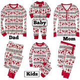Family Matching Christmas Pajamas - Red White Black | Christmas Apparel | All For Xmas