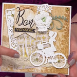 Parisian Chic Metal Cutting Die | DIY Scrapbooking | All For Xmas
