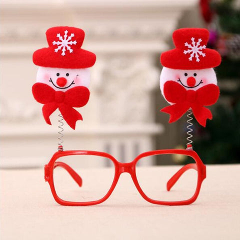 Christmas Decorative Glasses For Children | Christmas Accessories | All For Xmas