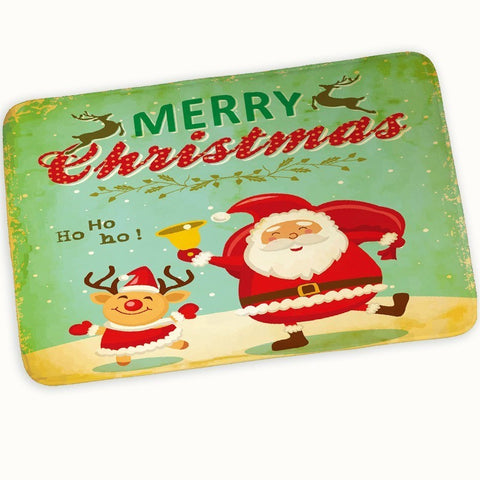 Merry Christmas Non-Slip Doormat Kitchen Rug | Home Decor | All For Xmas