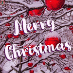 Snowy Merry Christmas Card | Greeting Cards | All For Xmas - All For Xmas