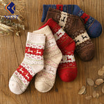 5 Pairs Casual Cotton Short Traditional Christmas Socks | Christmas Apparel | All For Xmas