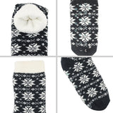 Thick Cotton Blend Christmas Slipper Socks | Christmas Apparel | All For Xmas