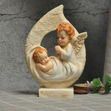 Nativity Scene - Angel Praying For A Baby | Christmas Decor