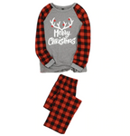 Christmas Family Matching Pajamas - Merry Christmas Antlers | Christmas Apparel | All For Xmas