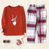 Christmas Family Matching Pajamas - Red Deer | Christmas Apparel | All For Xmas