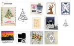 Christmas Decorated - DIY Die Cuts | Gifts For Christmas | All For Xmas - All For Xmas