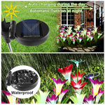 Butterfly Flowers Solar Waterproof 7 Colors | Christmas Lighting | Outdoor Lighting | All For Xmas