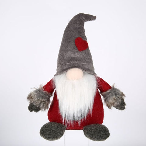Swedish Santa Plush Handmade Gnome | Christmas Decoration | All For Xmas