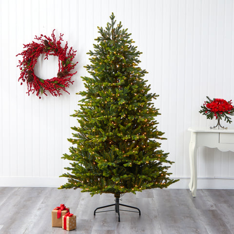 7' North Carolina Fir Artificial Christmas Tree