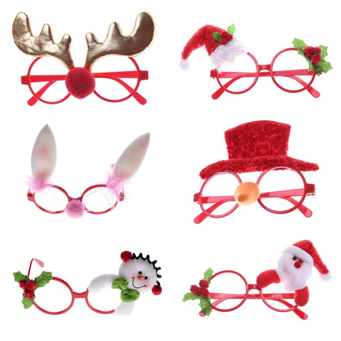 Funny Christmas Eyeglass | Costume Eyewear | Men, Women, Children | All For Xmas