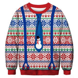 Ugly Christmas Sweater Printed Pullover -Christmas Suit | Christmas Apparel | All For Xmas