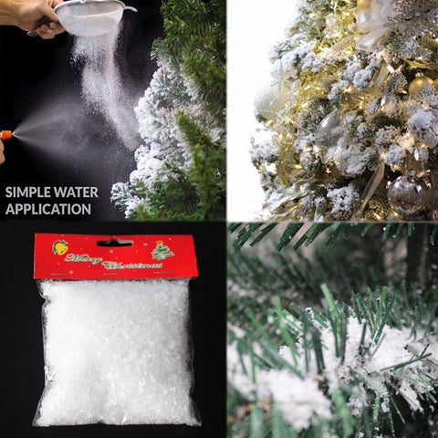 White Magic Snow Decoration | Christmas Decor | All For Xmas