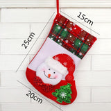 Small Christmas Traditional 3D Stocking - 3 designs | Home Decor | All For Xmas