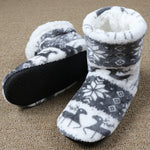 Comfy Plush Christmas Slippers Socks | Christmas Apparel | All For Xmas