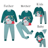 Christmas Family Matching Pajamas - Smiling Santa | Christmas Apparel | All For Xmas - All For Xmas