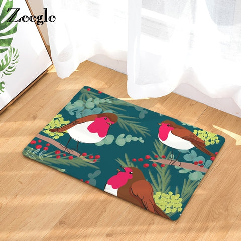 Christmas Decorated Non-Slip Doormat Bathroom Rug - Multiple Designs | Home Decor | All For Xmas