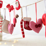 Felt Decorative Christmas Tree Hanging | Tree Decorations | All For Xmas