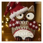 Hoot Hoot Hoot Christmas Card | Greeting Cards | All For Xmas - All For Xmas
