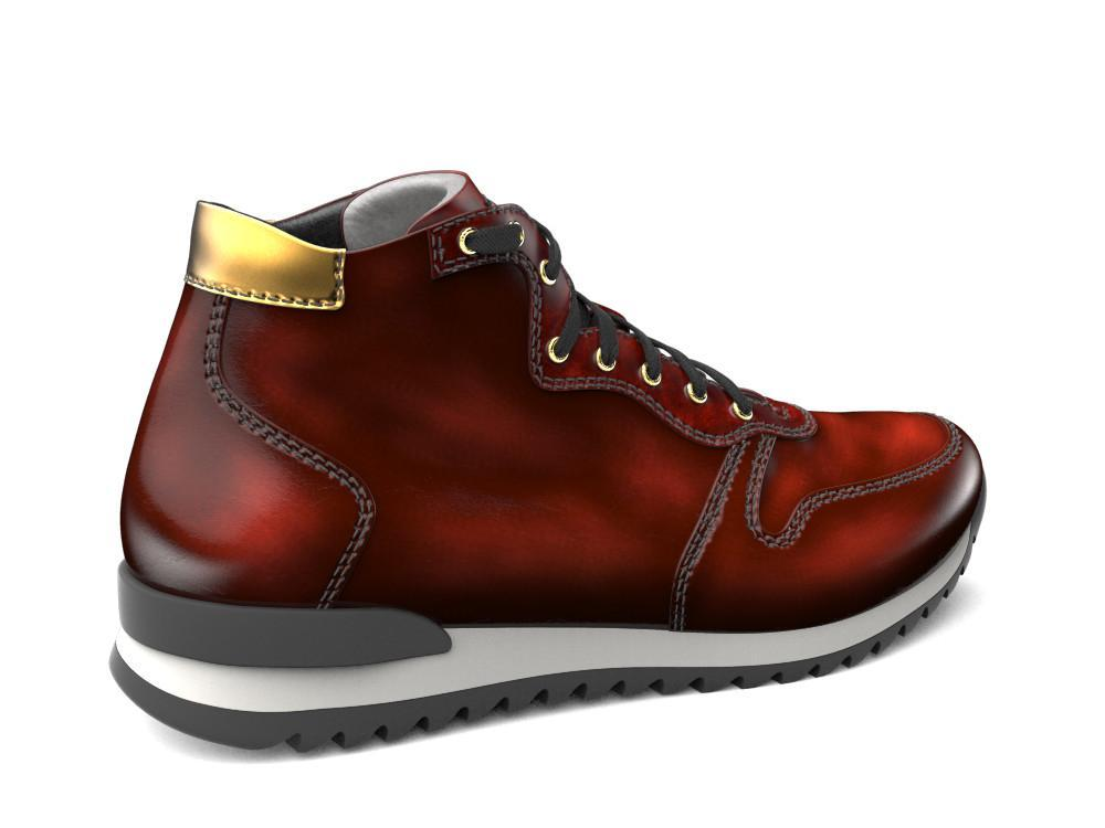 Romano X Don Antelope Leather High-Tops - Shoes