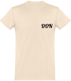 Mens Official Don Round Neck T-Shirt - Natural / Xs - Homme>Tee-Shirts