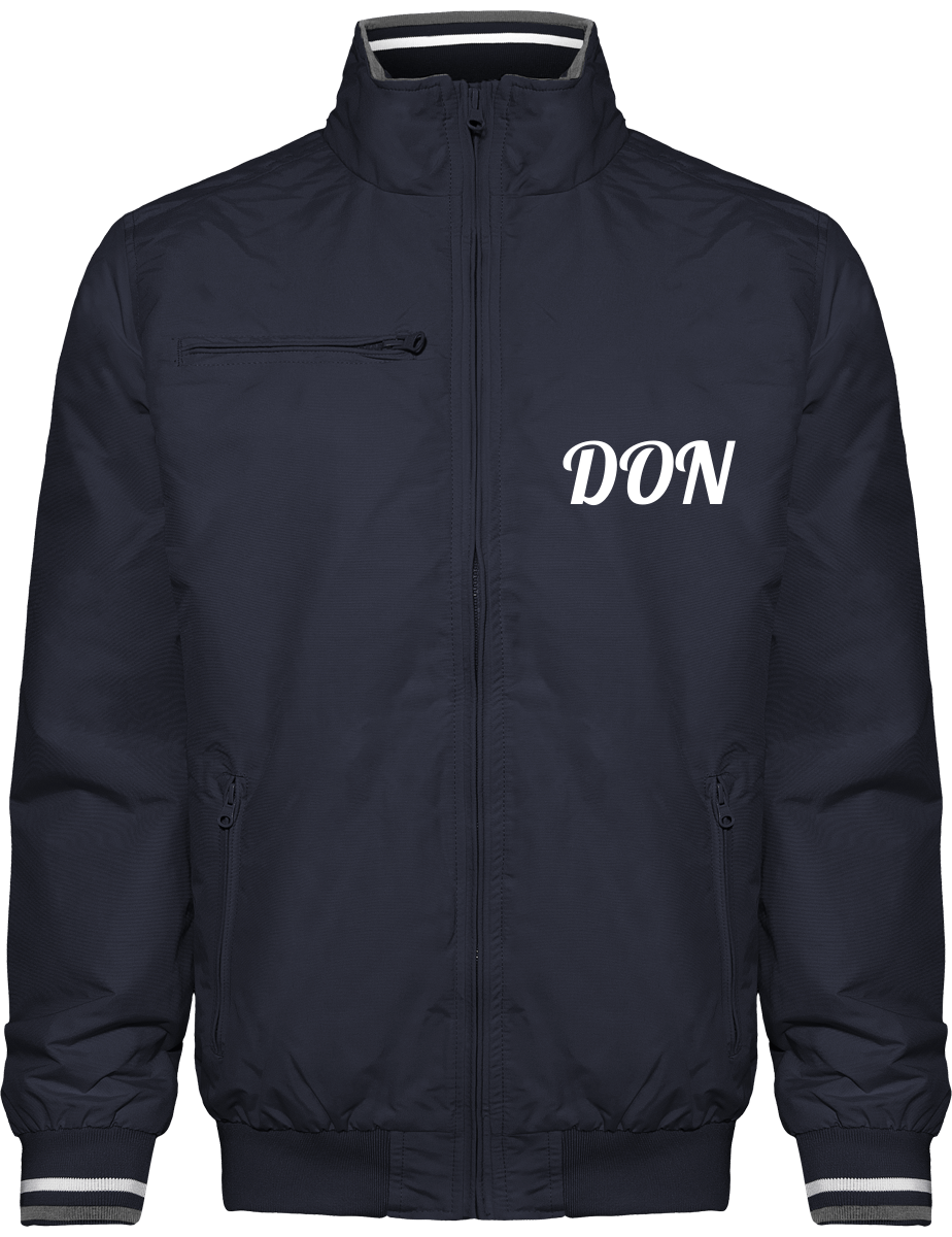 Official Don City Wear Jacket - Navy / White / Storm Grey / S - Homme>Vestes & Manteaux