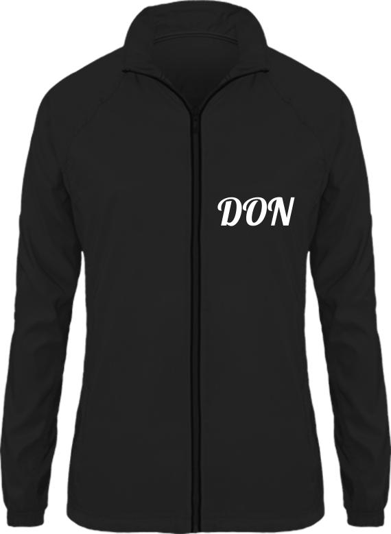 Womens Official Don Track Jacket- Dark - Black / Xs - Femme>Vêtements De Sport