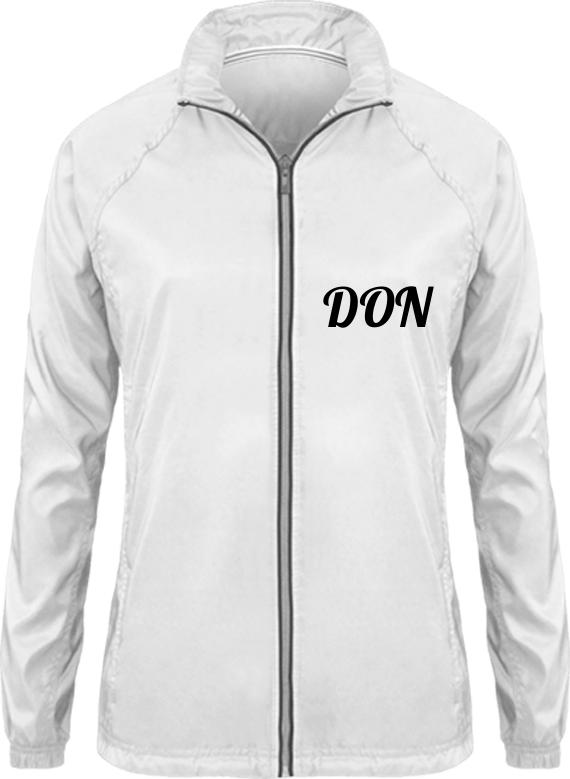 Womens Official Don Track Jacket- Light - White / Xs - Femme>Vêtements De Sport