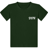 Official Don T-Shirt - Kids - Bottle Green / 3/4 Ans - Enfant & Bébé>T-Shirts