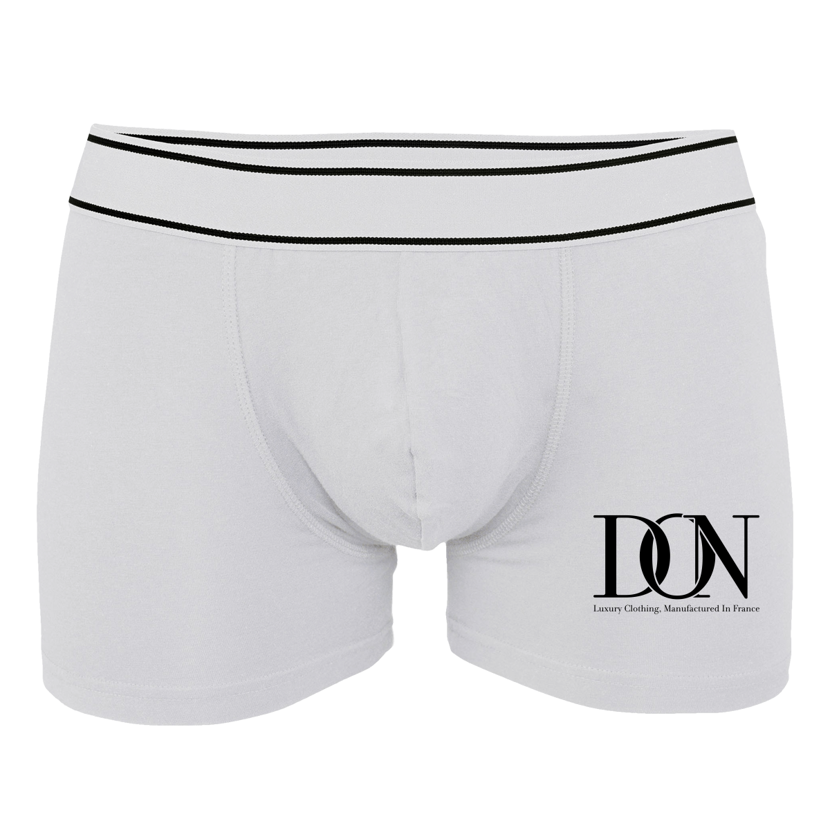 Mens Official Don Signature Boxer-Shorts - White / S - Homme>Sous-Vêtements