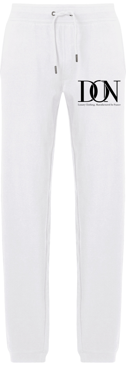 Mens Official Don Signature Jogging Bottoms - White / S - Homme>Vêtements De Sport