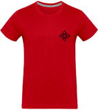 Mens Official Don Signature Complex Plain T-Shirt - Red / S - Homme>Tee-Shirts