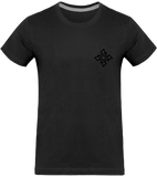 Mens Official Don Signature Complex Plain T-Shirt - Dark Grey / S - Homme>Tee-Shirts