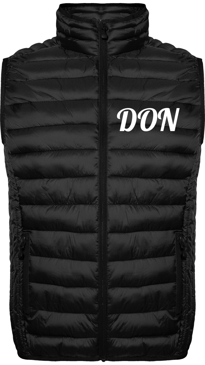 Official Don Quilted Signature Body-Warmer - Black / S - Homme>Vestes & Manteaux