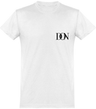 Mens Official Don Signature Plain T-Shirt - White / Xs - Homme>Tee-Shirts