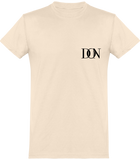 Mens Official Don Signature Plain T-Shirt - Natural / Xs - Homme>Tee-Shirts