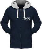 Mens Official Don Heavyweight Signature Jacket - New French Navy (Grey Inner) / S - Homme>Sweatshirts