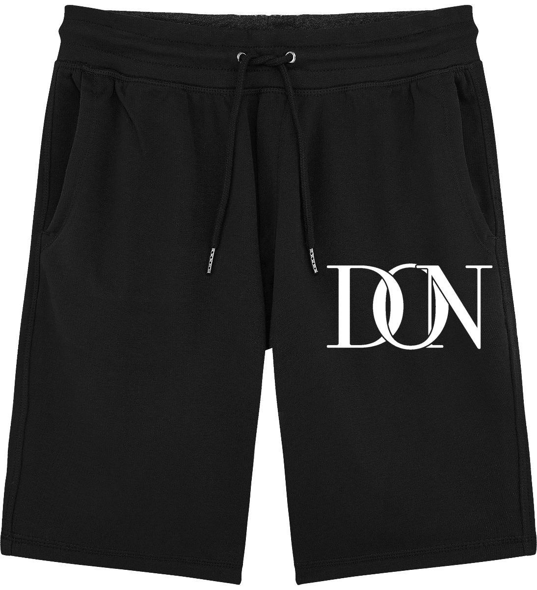 Mens Official Don Signature Light Jogging Shorts - Black / S - Homme>Vêtements De Sport