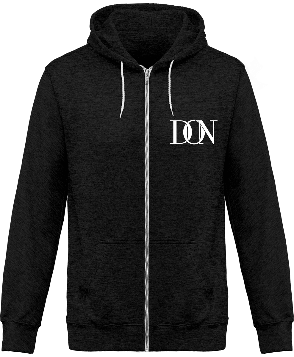 Mens Official Don Signature Dark Jacket - Black Heather / Xs - Unisexe>Sweatshirts