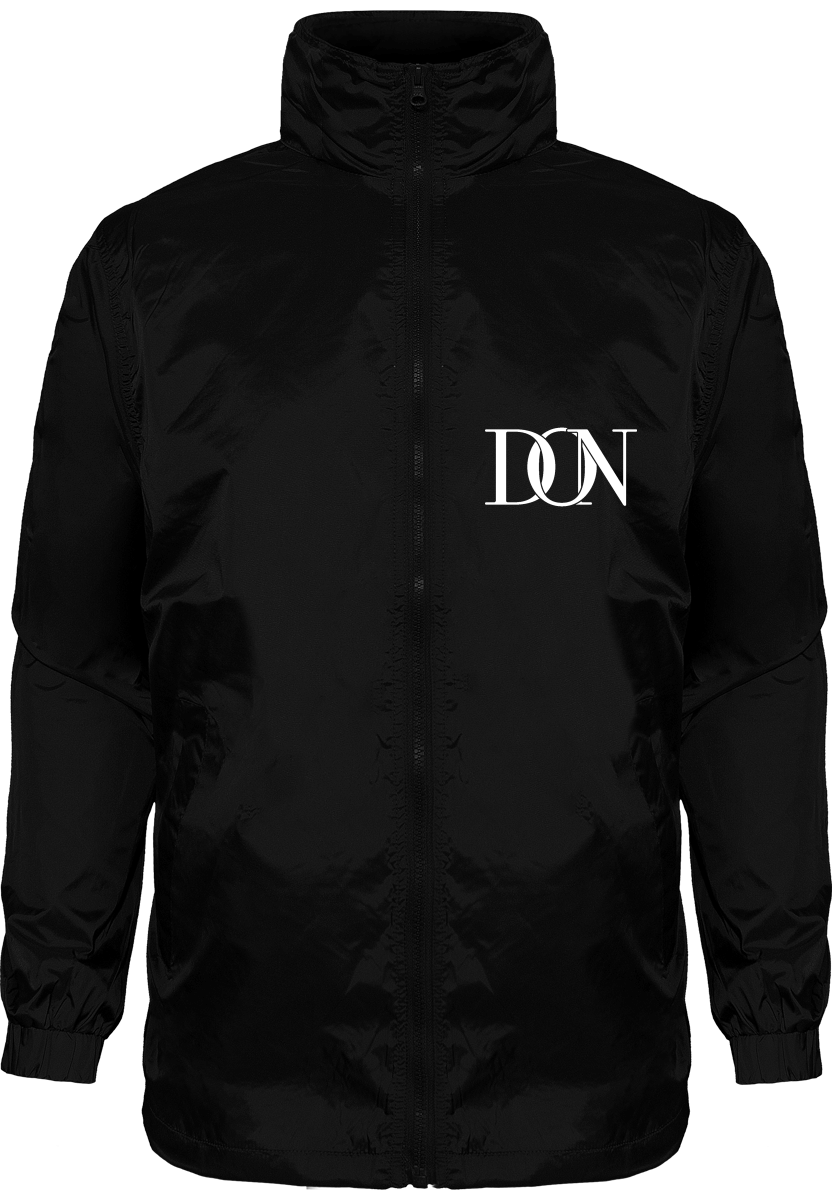 Official Don Signaturedoubled Eagle Windbreaker - Black / S - Homme>Vestes & Manteaux