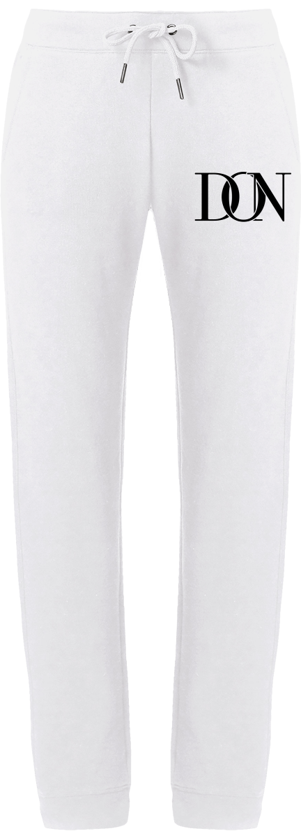 Womens Official Don Signature Joggers - White / Xs - Femme>Vêtements De Sport