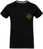 Mens Official Don Gold-Logo T-Shirt - Black / S - Homme>Tee-Shirts